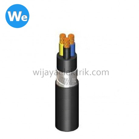 Kabel Supreme NYRGBY 3 x 4 mm ( Meteran )