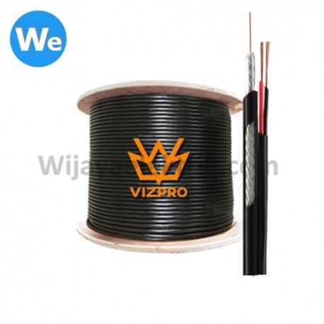 Kabel Vizpro RG59 2 in 1